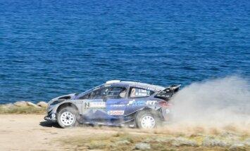 Igaunis Tanaks tiek pie savas pirmās WRC uzvaras karjerā