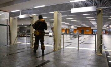Vienojas par uguns pārtraukšanu Doņeckas lidostā