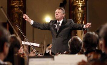 75. jubileju svin pasaulslavenais latviešu diriģents Mariss Jansons