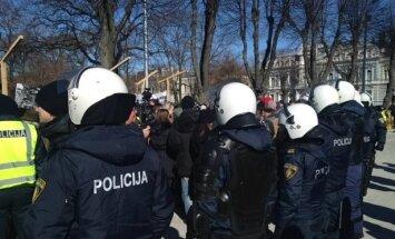 Policija spēs nodrošināt mierīgu 16.marta pasākumu norisi, sola Ķuzis