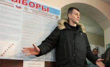 Putins: Prohorovs varētu strādāt valdībā