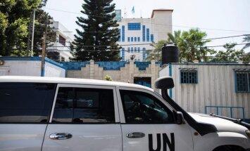 Izraēla aiztur ANO darbinieku par palīdzību 'Hamas'