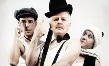 Valdis Lūriņš iestudējis Kestnera komēdiju 'Trīs vīri kūrortā'
