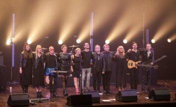 Foto: Ieskandināta Harija Zariņa 60 gadu jubilejas koncertturnej