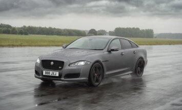 'Jaguar XJ' jaunā sportiskā versija paātrināsies līdz 300 km/h