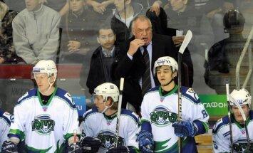 KHL pārņem treneru atlaišanas bums