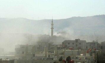 Laikraksts: militārā uzbrukuma mērķis būtu Sīrijas režīma spēki, ne ķīmisko ieroču noliktavas
