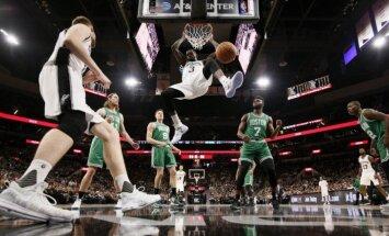 Bertānam precīzs tālmetiens un četras rezultatīvas piespēles 'Spurs' uzvarā