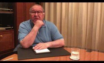 Navaļnijs izprovocē miljardieri Usmanovu ierunāt video