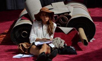 Foto: Kā Holivudā gatavojas 'Oskara' balvas ceremonijai