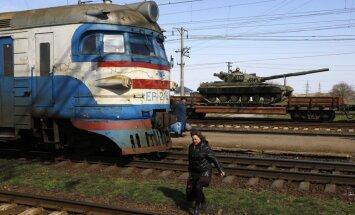 Krievijā sākušās militārās mācības Ukrainas pierobežā, Krimā un citos reģionos