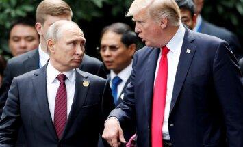Tikšanās ar Putinu šovasar ir iespējama, uzskata Tramps