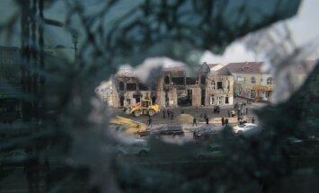 Čečenijā nodedzinātas Groznijas uzbrukuma dalībnieku radinieku mājas