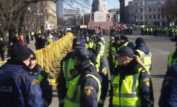 Galvenais 16.marta provokāciju mērķis ir diskreditēt Latviju, norāda DP