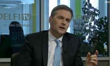 ВИДЕО. Интервью на Delfi TV: Янис Домбурс vs Мартиньш Бондарс