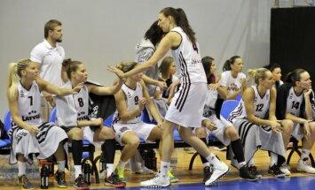 Latvijas sieviešu basketbola izlase paliek bez Tamanes