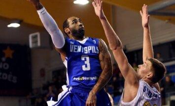 'Ventspils' klubs pārtraucis sadarbību ar amerikāņu basketbolistu Mičelu