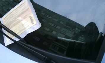 Житель Плявниеков: Если бы ночью разрешили парковаться на тротуаре, места хватило бы всем (+ комментарий РД)