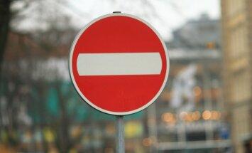 Ierobežos satiksmi Satekles ielā un citviet Rīgā