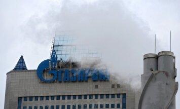 'Gazprom' pārtrauc gāzes piegādi Ukrainai (plkst. 14:00)