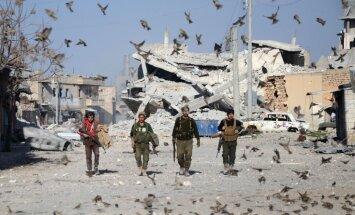 Krievija prasa lielvarām maksāt par arī pašu sabombardētās Sīrijas atjaunošanu