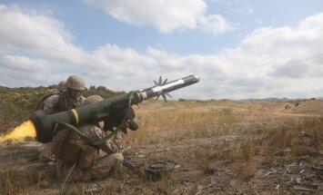 Vašingtona: Ukrainai var tikt piegādāti ieroči aizsardzībai