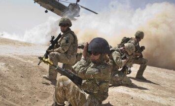 Lielbritānija palielinās karavīru skaitu Afganistānā