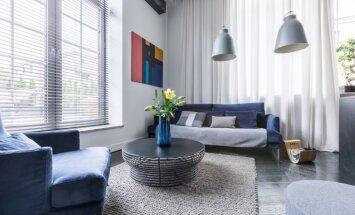 ТОП-6 идей для оформления комнаты с двумя окнами