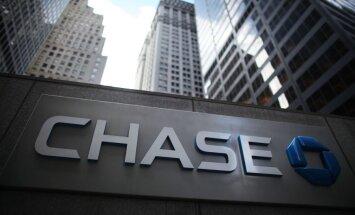 'Fitch' pazemina milzu zaudējumus cietušās ASV bankas 'JPMorgan' reitingu