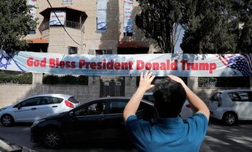 ASV: ar vēstniecības pārcelšanu uz Jeruzalemi no miera procesa pazūd fantāzijas