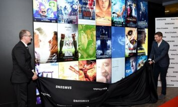 'Samsung' kinoteātrī 'Citadele' atklāj lielāko video sienu Baltijas valstīs