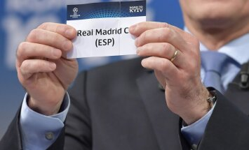 Čempionu līgas astotdaļfinālā grandu cīņas: 'Real' pret PSG un 'Chelsea' pret Barcelona'