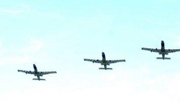 Kurzemniekus pārbiedē militāro lidmašīnu radītie trokšņi