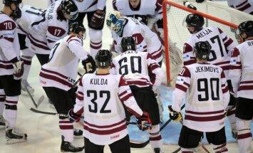 Latvijas hokejisti OS kvalifikāciju turpina ar maču pret Kazahstānu