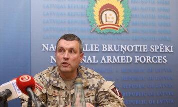 Prezidents NBS komandiera amatam virza Bergmaņa ieteikto Kalniņu