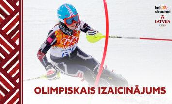 Video: Vai olimpiskais reportieris kvalificēsies Baltijas kausam kalnu slēpošanā kopā ar Gasūnu un Zvejnieku?