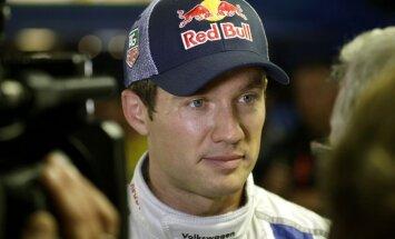 Ožjērs pārņem stabilu līderpozīciju pēc Spānijas WRC rallija pirmās dienas
