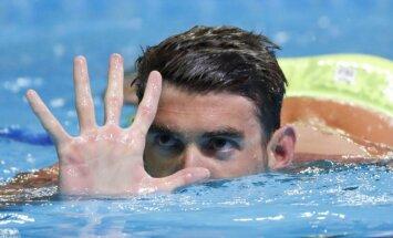 Leģendārais Maikls Felpss emocionāli kvalificējas savām piektajām olimpiskajām spēlēm