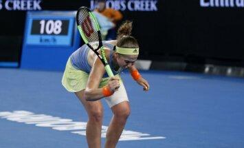 Остапенко проиграла эстонке Контавейт в 1/16 финала Australian Open
