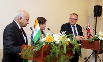 Latvijai un Indijai ir potenciāls sadarboties izglītības, IT un transporta jomās, uzskata Ašeradens