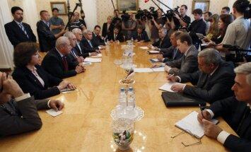 Sīrijas opozīcijas vadītājs Maskavā vēlas mainīt Krievijas pozīciju Sīrijas krīzes risināšanā