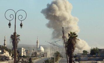 Активисты: десятки военных погибли от взрыва в Алеппо