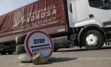 Krievija bloķē Ukrainas preču tranzītu