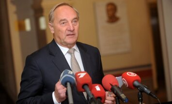 Valsts prezidents pozitīvi vērtē ASV militāristu ierašanos Latvijā