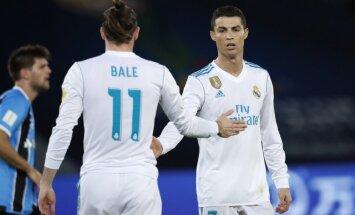 Ronaldu vārti atnes Madrides 'Real' uzvaru Klubu Pasaules kausā