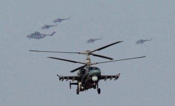 Diennakts laikā Krievijas kara aviācija vairākas reizes ielidojusi Ukrainas gaisa telpā