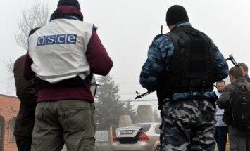 Krievija un Vācija rosina divkāršot EDSO misiju Ukrainā līdz 1000 novērotājiem