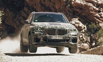 Video: BMW kārdina ar ieskatu jaunajā 'X5' modelī
