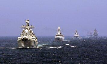 Arī Krievijas karakuģi dosies uz strīdīgajiem Dienvidķīnas jūras ūdeņiem
