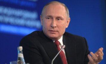Nesankcionēto protestu dalībnieki ir jāsoda, uzstāj Putins